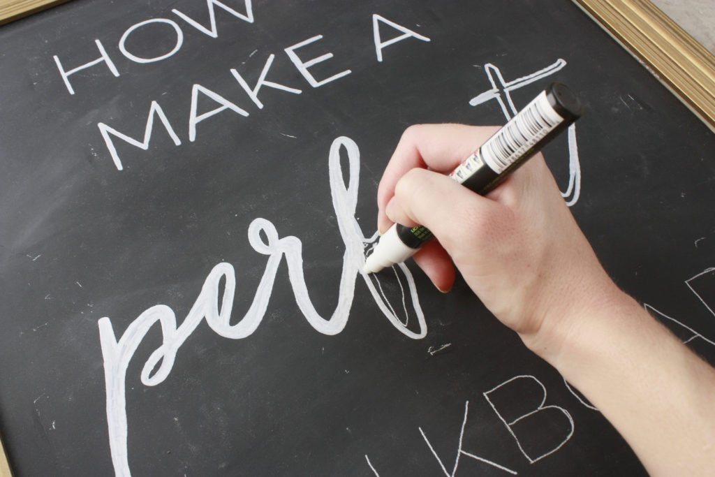 How To Make A Perfect Chalkboard Sign That Newlywed Life